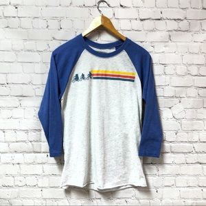 Stranger Things Netflix 3/4th Sleeve Baseball Tee
